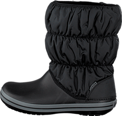 Winter Puff Boot Women Black/Char
