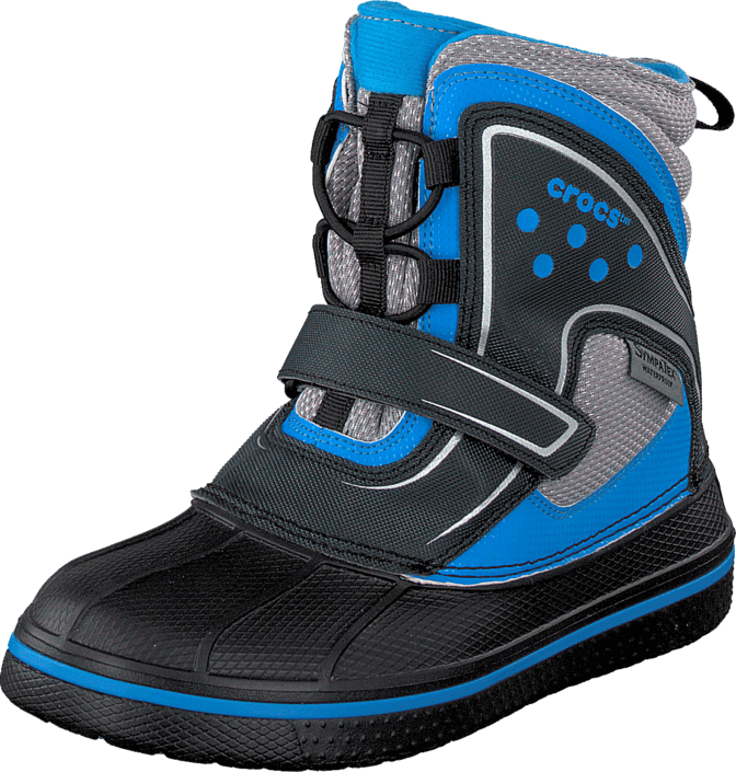 Crocs - AllCast Waterproof Boot GS Black/Ocn