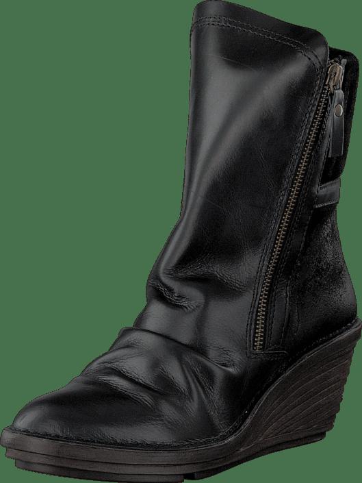 85444b0f7176 Fly London Simi Black Black Schwarze Schuhe Kaufen Online   FOOTWAY.at