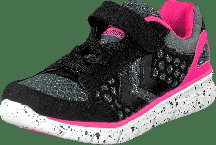 f84de937e08 Køb Hummel Hummel Crosslite Jr Lo Black/Pink lyserøde Sko Online ...