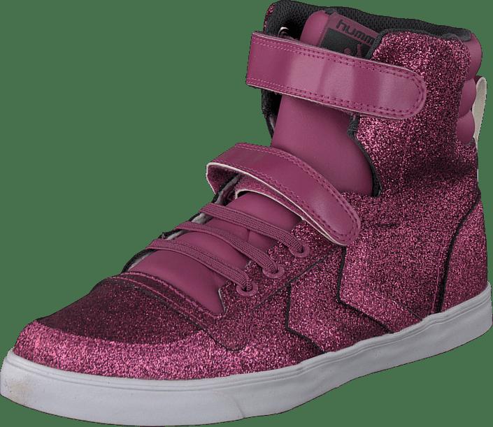 Hummel - Hummel Sl Stadil Glitter Jr Hi Red Violet