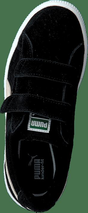 817988ce229 Koop Puma Suede 2 Straps Kids Black zwarte Schoenen Online | FOOTWAY.nl