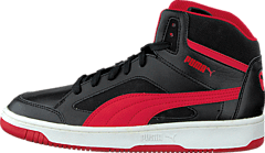 sports shoes 565aa 10efb Puma - Puma Rebound V2 Hi Jr Black