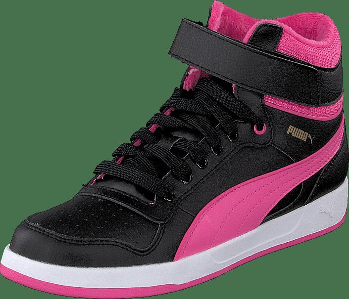 Puma - Puma Liza Mid Fur Jr Black