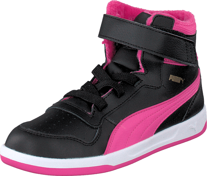 6930beaf258 Koop Puma Puma Liza Mid Fur Kids Black roze Schoenen Online | FOOTWAY.nl