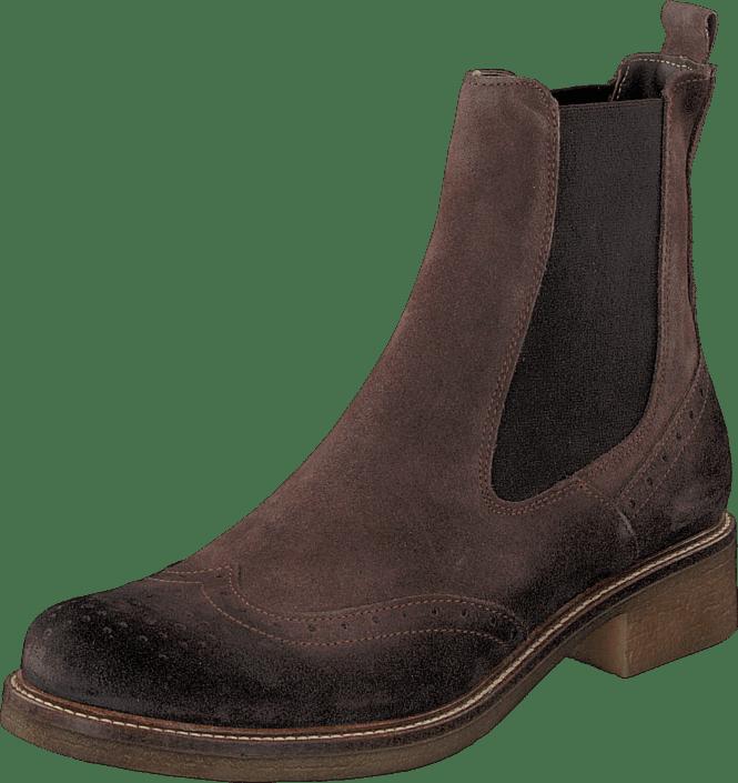 Short boot 1826255 Dark brown