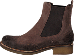Short boot 1826255 Dark brown