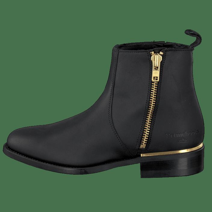Kjøp PrimeBoots Ascot Majesty Low Black Brass sorte Sko
