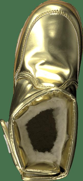Classic SnowJoggersMetallic Shiny Metallic Pu Gold