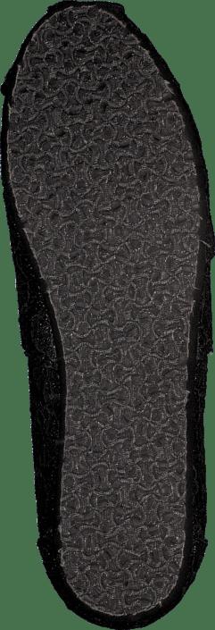 Toms - Wm Seasonal Classic Black crochet glitter