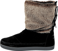 74775732 Toms - Nepal boot Black suede faux hair