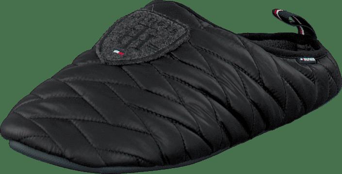 Tommy Hilfiger - Down slipper 1D Black