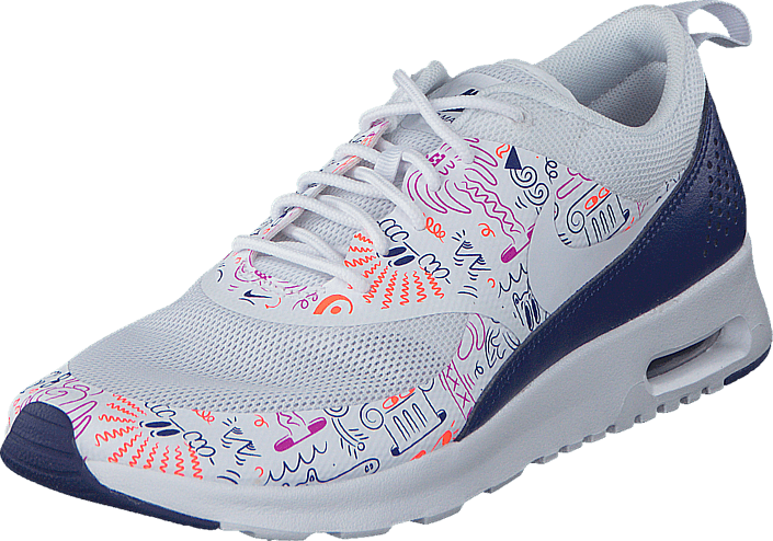 save off 29fa1 43c2b Nike - Wmns Nike Air Max Thea Print White-Dk Purple Dust