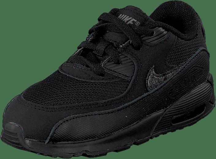 Nike Air Max 90 Mesh (Td) Black/Black-Cool Grey