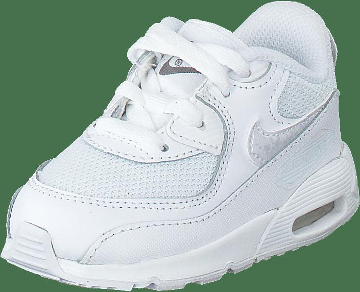 buy popular 3a72b fa39d Nike - Nike Air Max 90 Mesh (Td) White White-Cool Grey