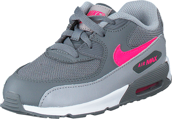 best loved 28a9d 77951 Nike - Nike Air Max 90 Mesh (Td) Cl Grey Hypr Pnk-