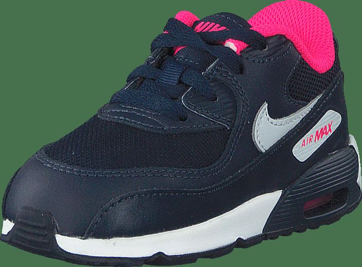 best sneakers 94177 e7465 Nike - Nike Air Max 90 Mesh (Td) Obsdn Pr Pltnm-Hypr