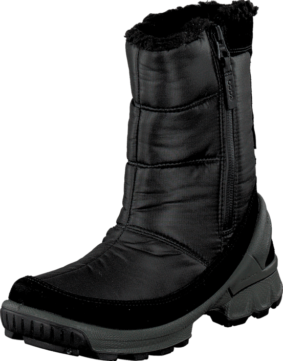 Ecco - ECCO BIOM HIKE KIDS BLACK/BLACK/GREEN GABLES
