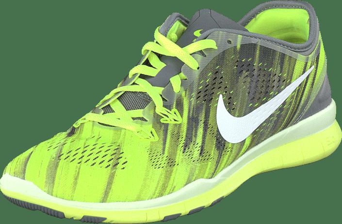 on sale 09a07 48781 Nike - Wmns Nke Free 5.0 Tr Fit 5 Prt VoltGrey