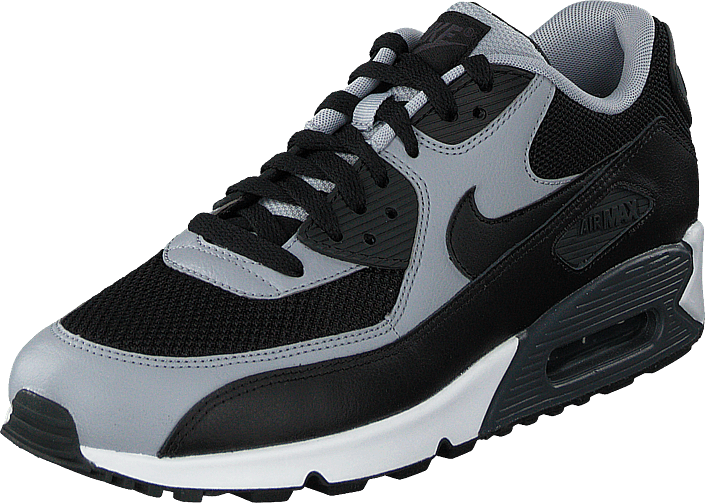 Nike Air Max 90 Essential Black/Black-Wolf Grey-Anthrct