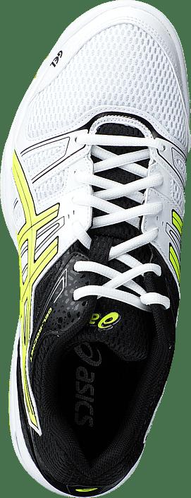 Asics - Gel Rocket 7 White/Flash Yellow/Black