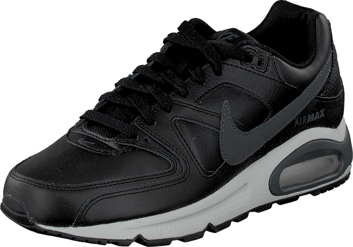 nike air max command leather grijs