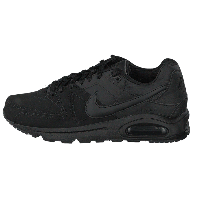 Osta Nike Nike Air Max Command Leather Black Black-Anthracite mustat Kengät  Online  8052f1b2bb