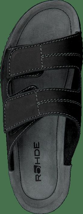Og Rohde Sko 90 1987 Tøfler Sandaler Sorte Black Kjøp Online TOwgPqq