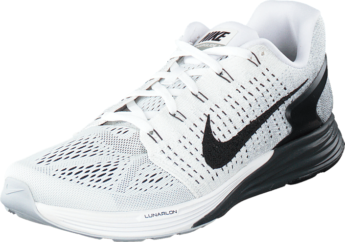 huge discount 0ae01 df963 Nike - Nike Lunarglide 7 White Black-Anthracite-Cl Grey