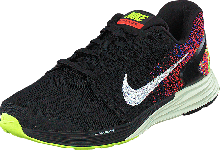 official photos 5e1b4 41305 Nike - Nike Lunarglide 7 Black Sail-Bright Crimson-Volt