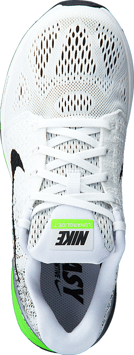 promo code aa4fc 29776 Nike - Nike Lunarglide 7 White Black-Electric Green