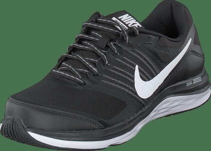 best service 9aaf9 0ed55 Nike Dual Fusion X Black/White-Cool Grey