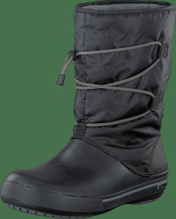 Köp Crocs Crocband II.5 Cinch Boot W BlackChar svarta Skor
