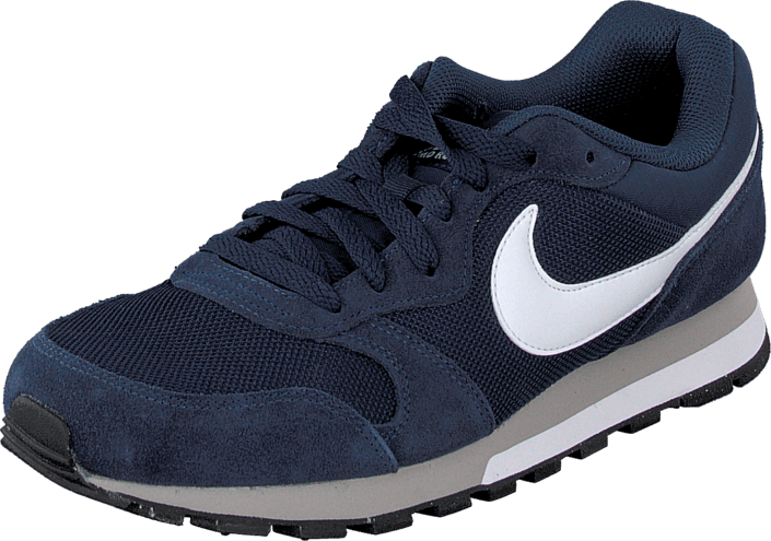 8baa0755 Køb Nike Nike MD Runner 2 Midnight Navy/White-Wolf Grey blå Sko ...