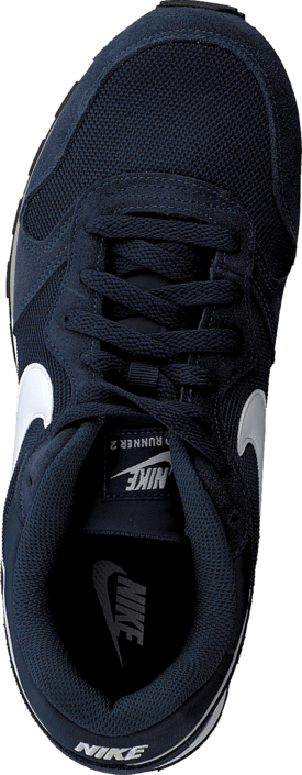 Kjøp Nike Md Runner 2 Midnight Navy/white-wolf Grey Sko Online