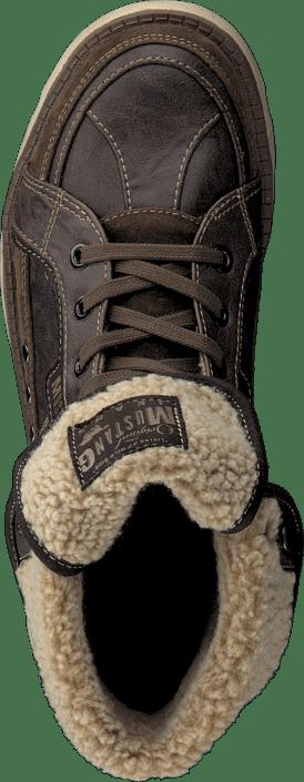 Mustang - 4051603 Men's Boot (fur) Dark Brown