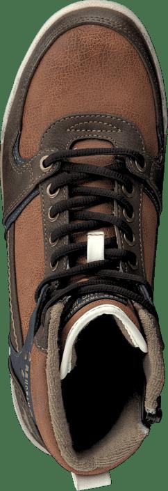 Mustang - 4064503 Men's High Top Sneaker Hazel