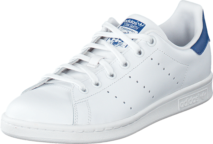 0cc4f229913 Koop adidas Originals Stan Smith J Ftwr White/Eqt Blue S16 witte ...