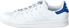 Stan Smith J Ftwr White/Eqt Blue S16