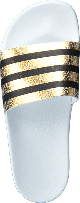 finest selection 00405 a3697 adidas Originals - Adilette W Gold Met. Ftwr White