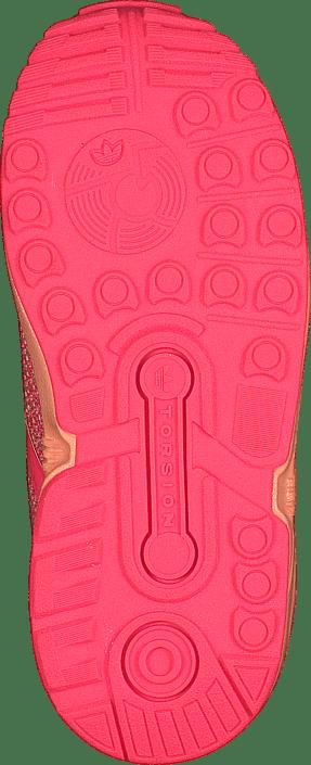 c57956c27 Buy adidas Originals Zx Flux Split El I Sun Glow Flash Red pink ...