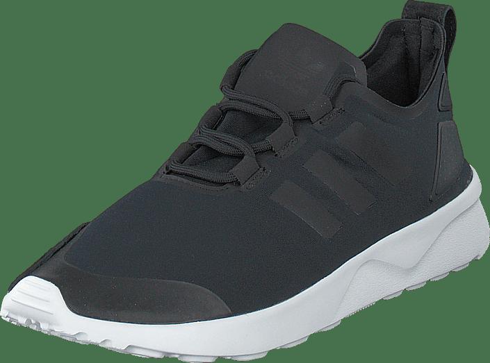 Verve Originals core Sko Sorte Black White W Flux Sneakers Zx Adidas Core Kjøp Online yTa5qIKc