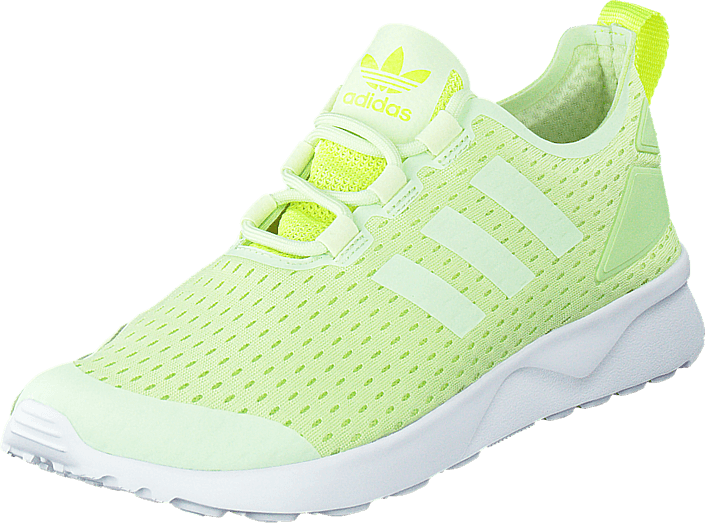 9f44d866a Buy adidas Originals Zx Flux Verve W Halo Solar Yellow green Shoes ...