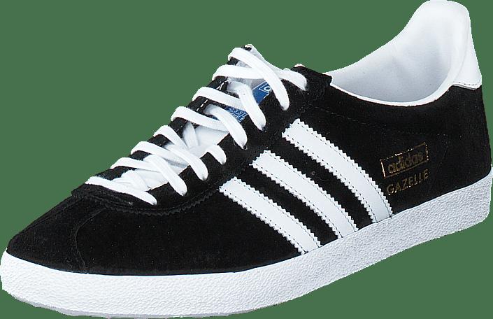 switzerland adidas originals gazelle og black white sneakers