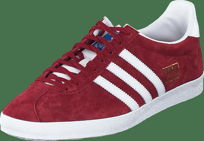 Gazelle røde adidas BurgundyFtwr Originals White Og Kjøp Collegiate uPkZiOTX