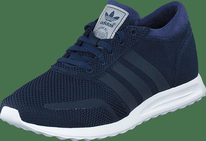 Billig online sko adidas Originals Navy Suede Gazelle Trainers