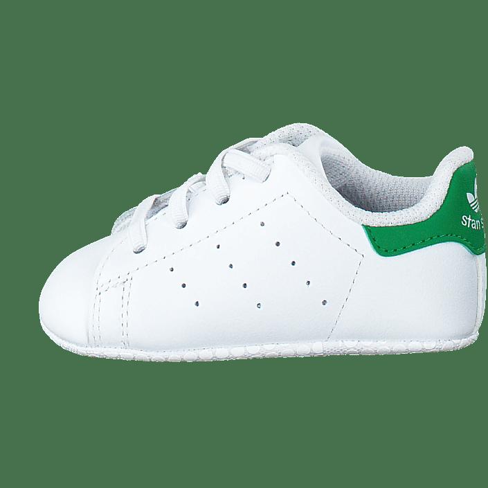 official photos c82e2 d7908 Köp adidas Originals Stan Smith Crib Ftwr White Green vita Skor Online    FOOTWAY.se