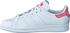 Stan Smith W White/Collegiate Red