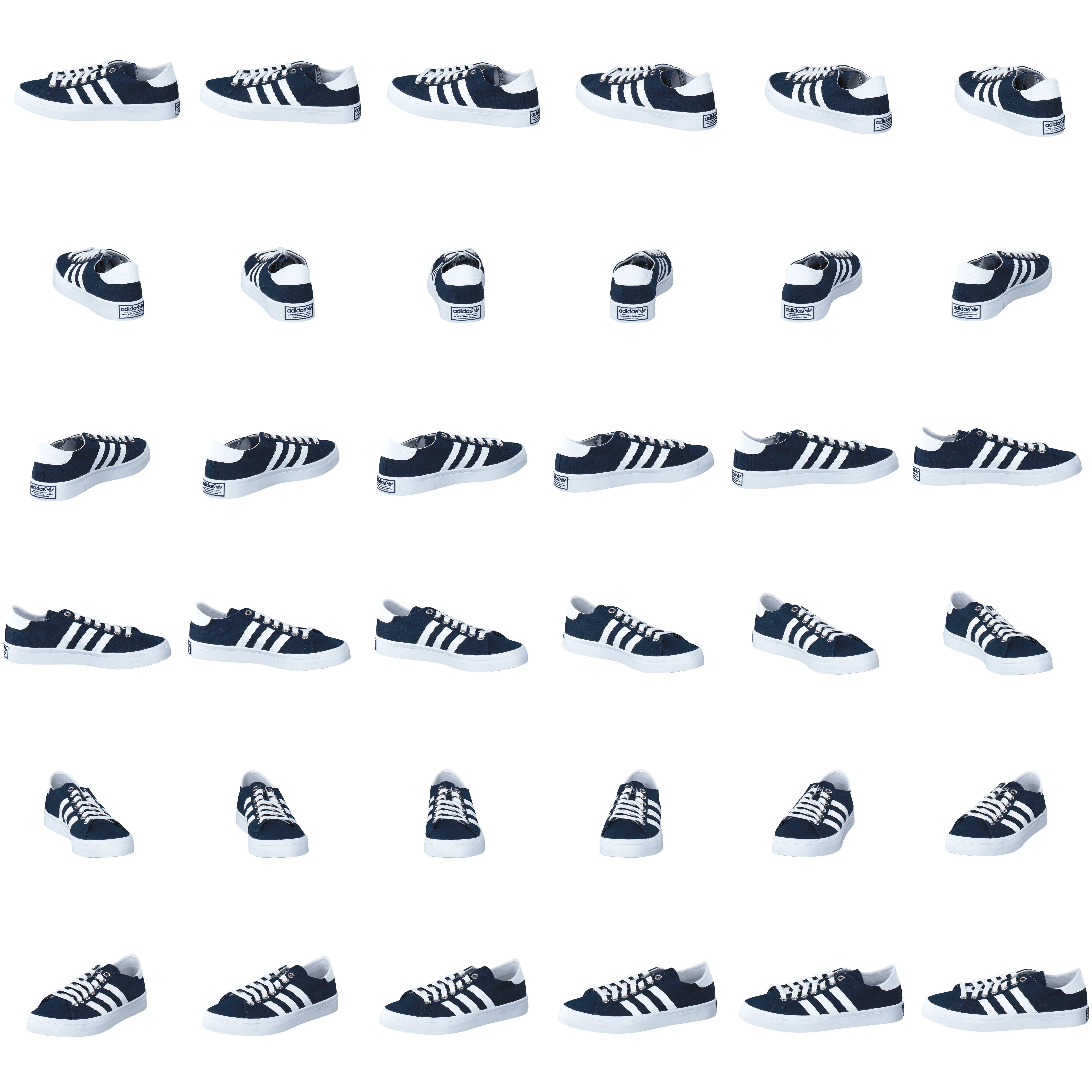 Köp adidas Originals Courtvantage NavyWhiteMetallic Silver