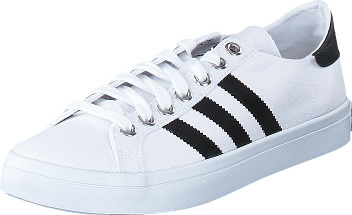 premium selection e11e0 35c88 adidas Originals - Courtvantage White Black Metallic Silver